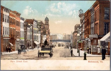 View_East_on_Main_Street,_Richmond,_Virginia_Postcard_1